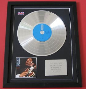 BB KING - Rock Me Baby CD / LP PLATINUM PRESENTATION DISC